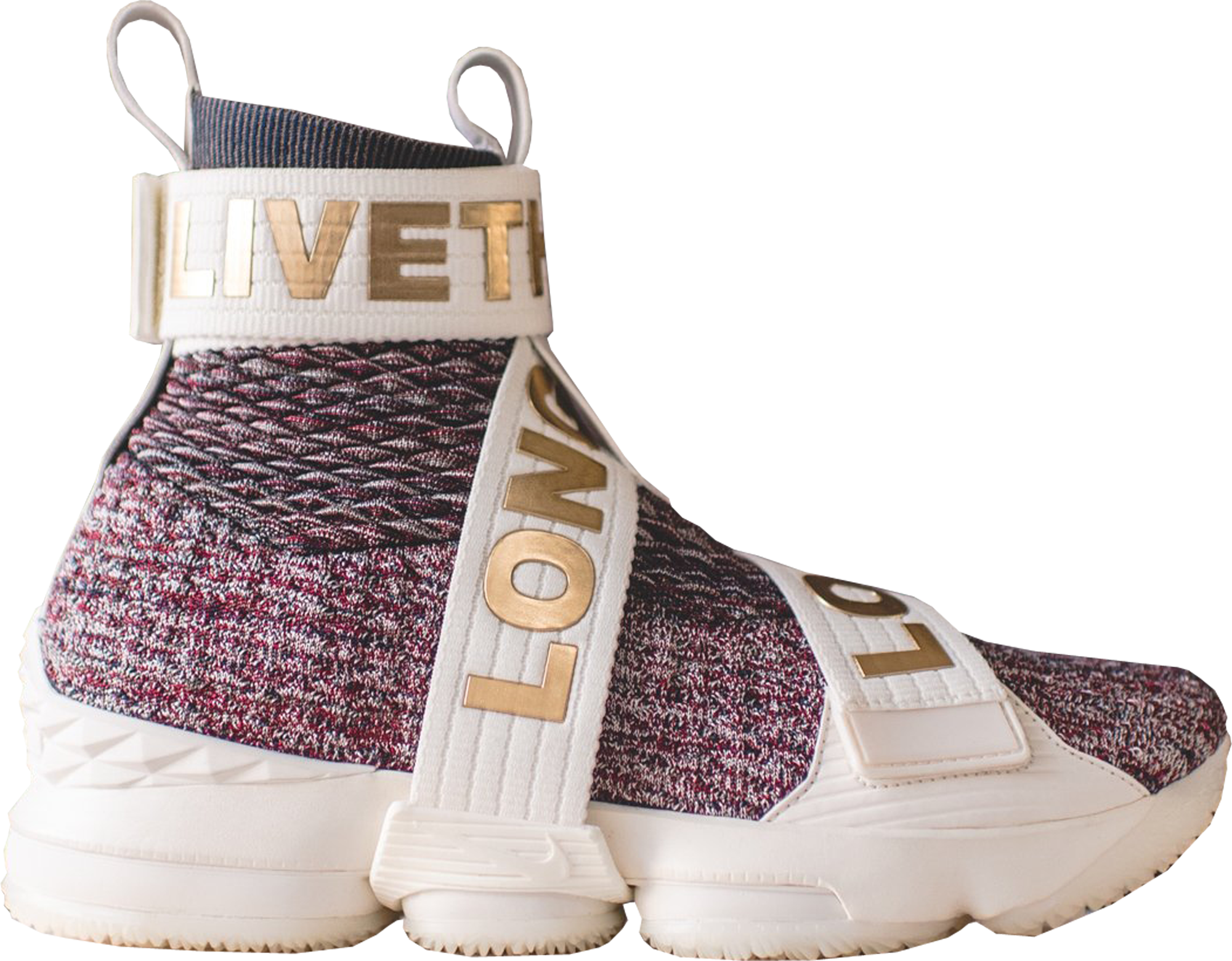 reputable site fe54d cde75 ... mens basketball shoes rust pink metallic 1f259 ad228  best price lebron  15 lifestyle kith stained glass 1d7cb 37e85