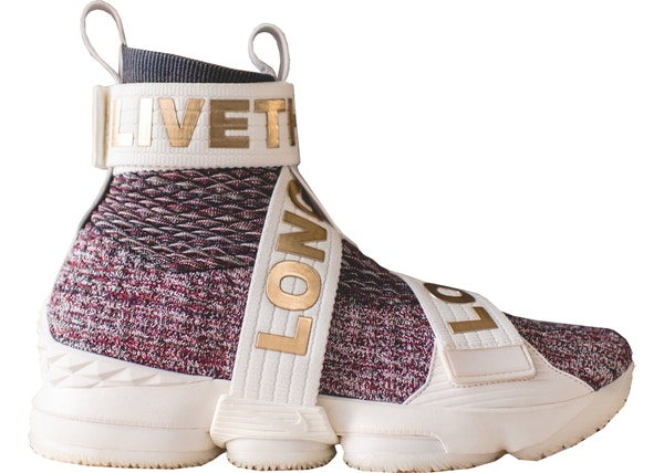 official photos f8cc2 b4df9 LeBron 15 Lifestyle KITH Stained Glass