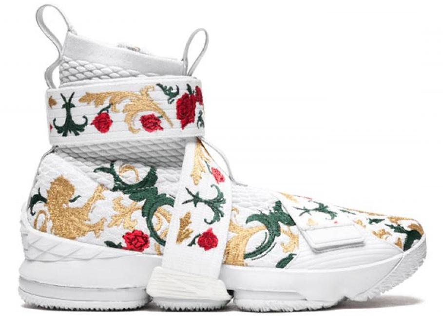 Nike LeBron 15 Lifestyle Kith F\u0026F White