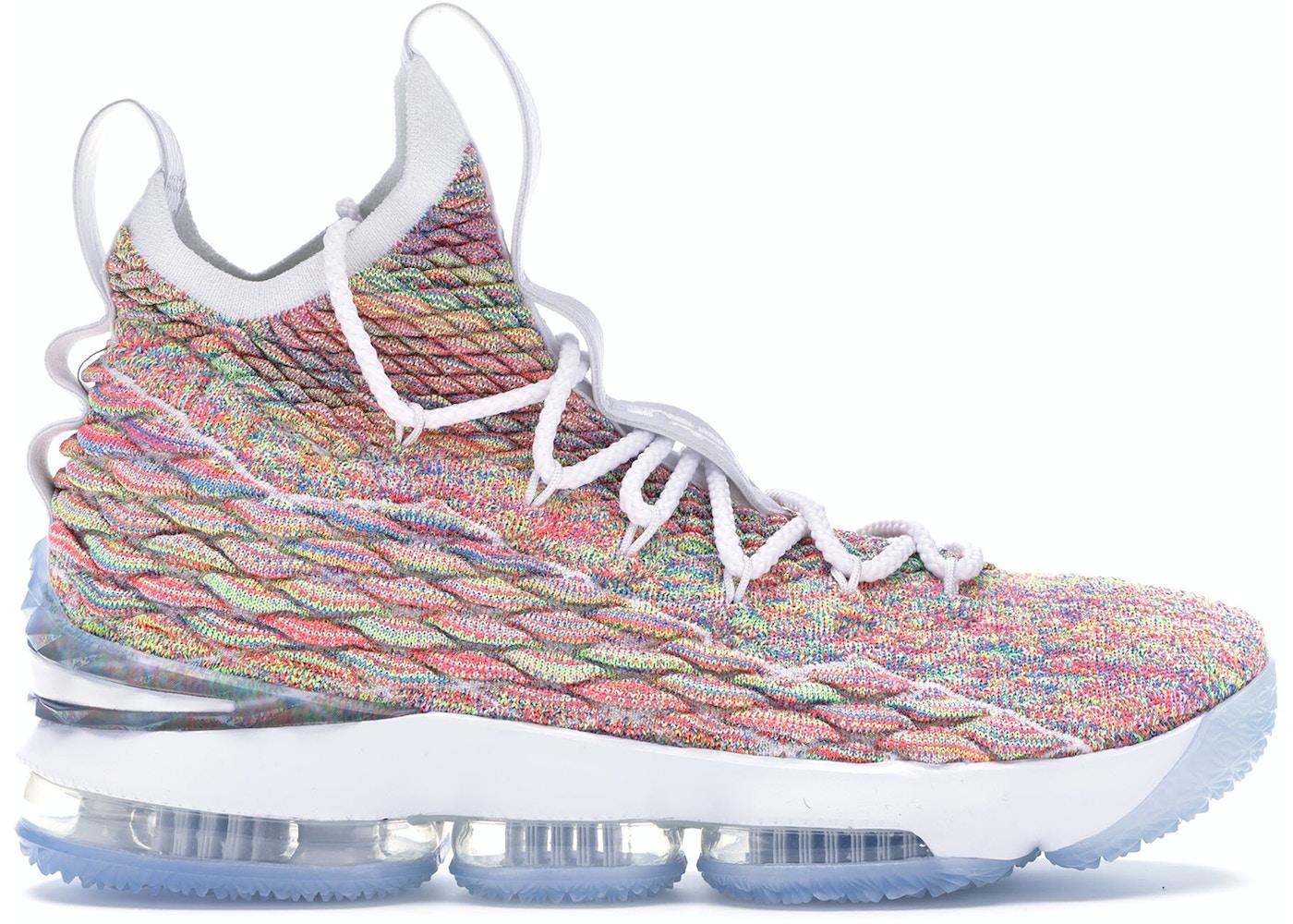 combinazione impulso pensieroso  Nike LeBron 15 Cereal - 897648-900