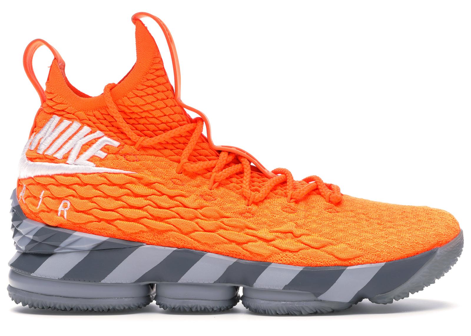 Nike LeBron 15 Orange Box - AR5125-800