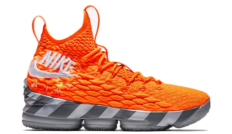 LeBron 15 Orange Box