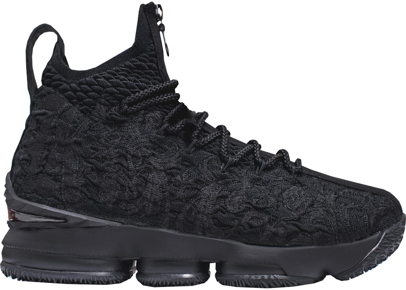 purchase cheap c397d 91bf6 ... BRAND NEW AUTHENTIC KITH x NIKE LEBRON PERFORMANCE XV 15 TRIPLE BLACK  DEADSTOCK. NEW Nike Air Max ...