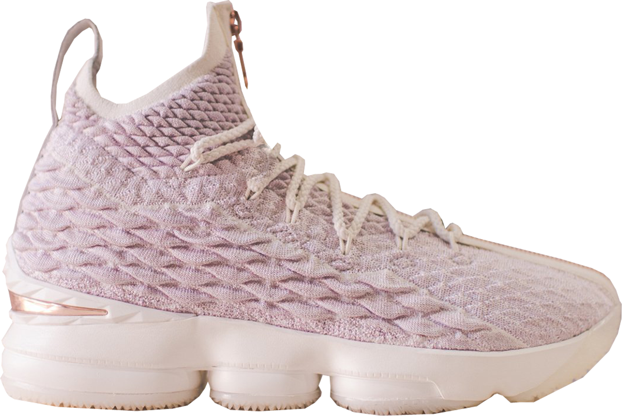 LeBron 15 Performance KITH Rose Gold