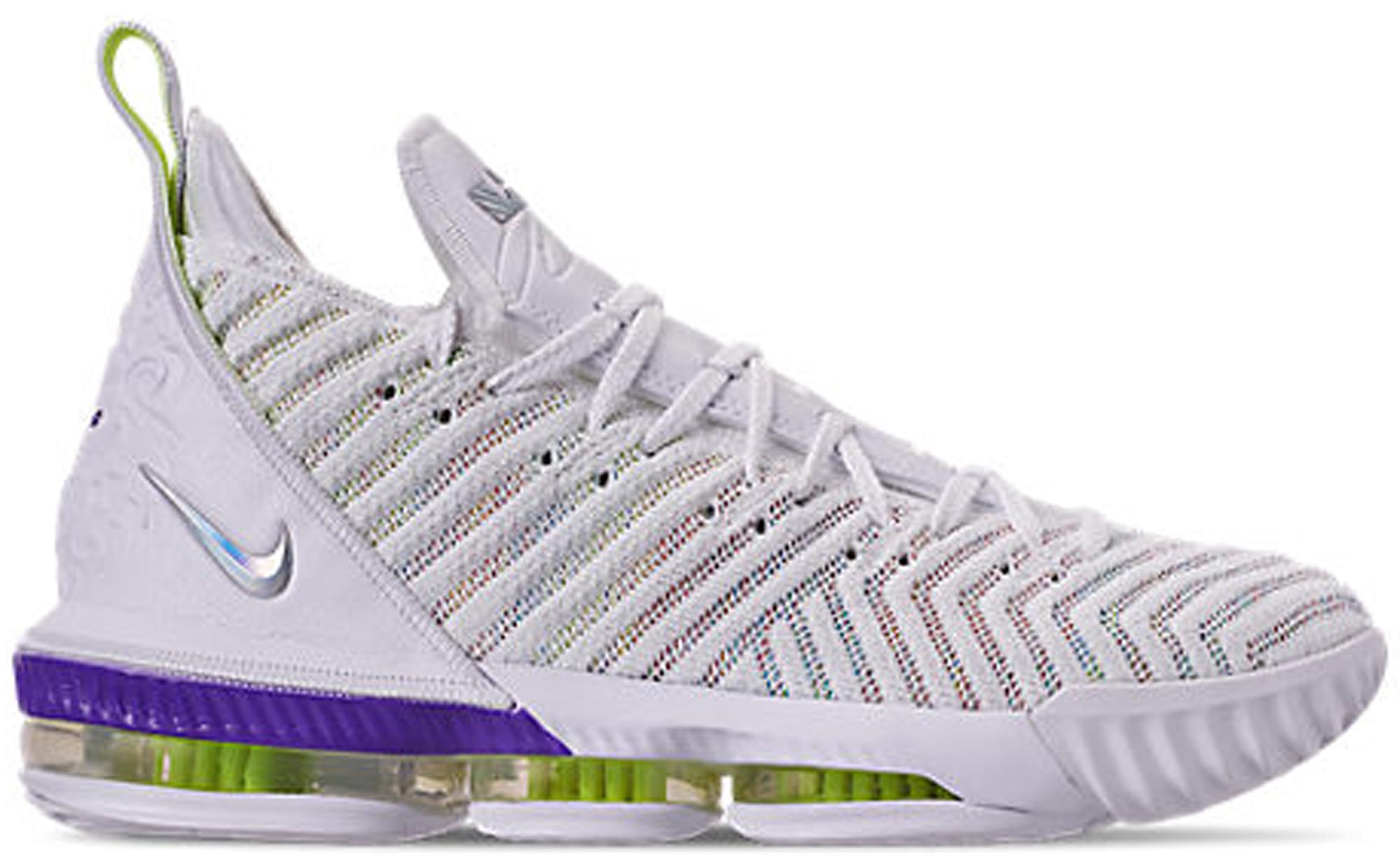 Pre-Owned Nike Lebron 16 Buzz Lightyear