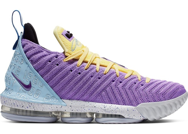 new styles 93c0d 9b3bb LeBron 16 Lakers Championships