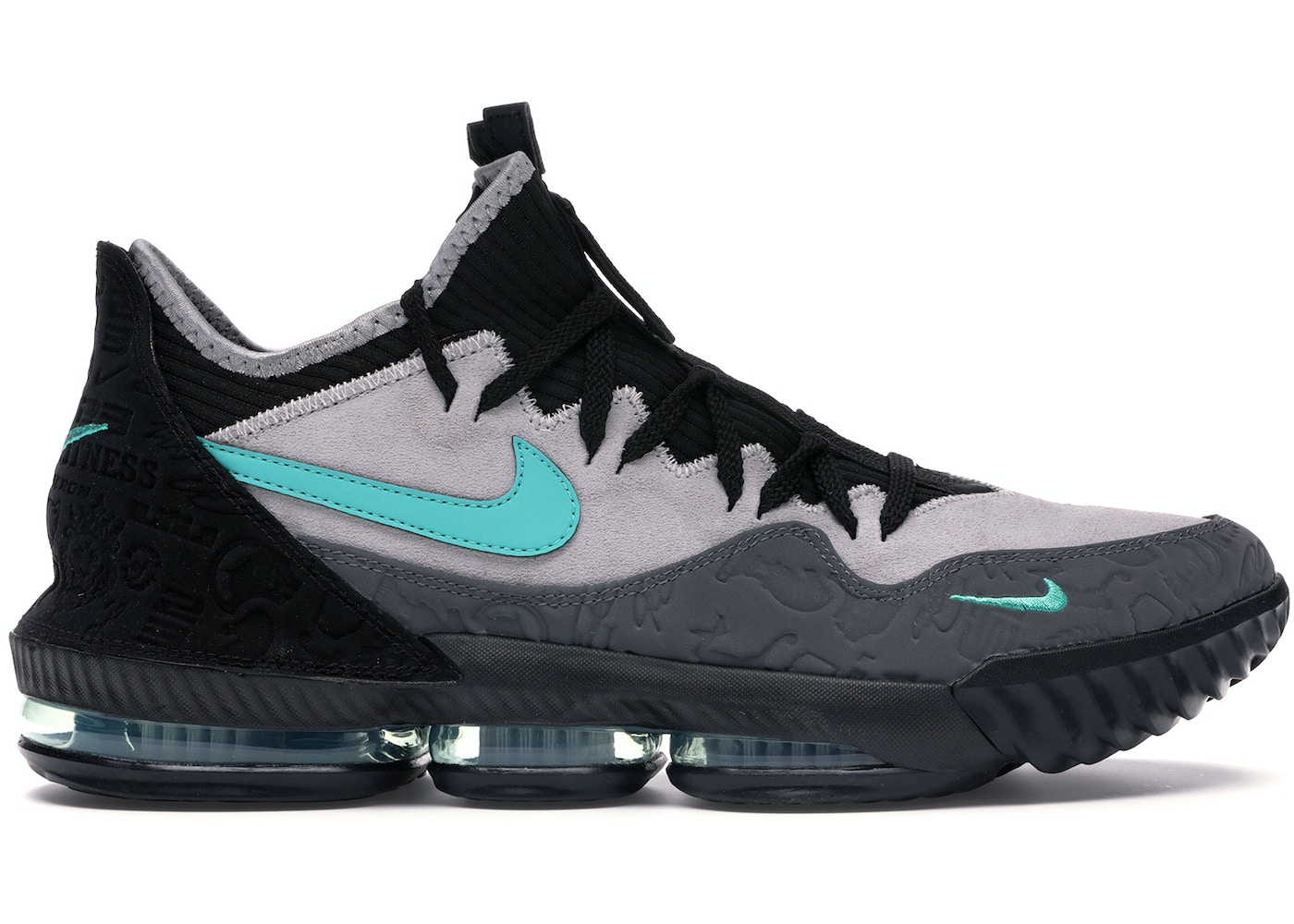 new arrivals 8eacf 410a0 LeBron 16 Low Atmos Clear Jade