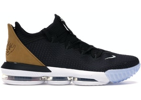 Nike LeBron 16 Low Black Wheat