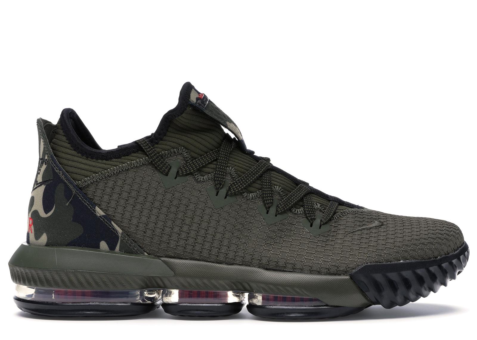 Nike LeBron 16 Low Camo - CI2668-300