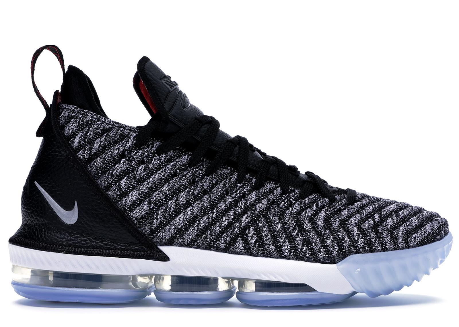 Nike LeBron 16 Oreo - AO2588-006/AO2595-006