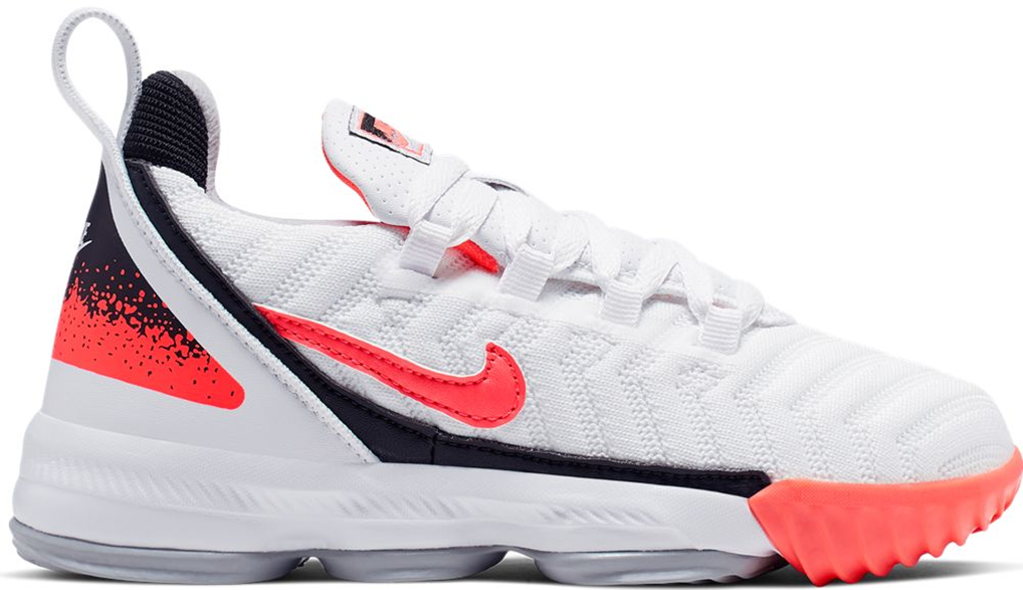 Nike LeBron 16 White Hot Lava (PS