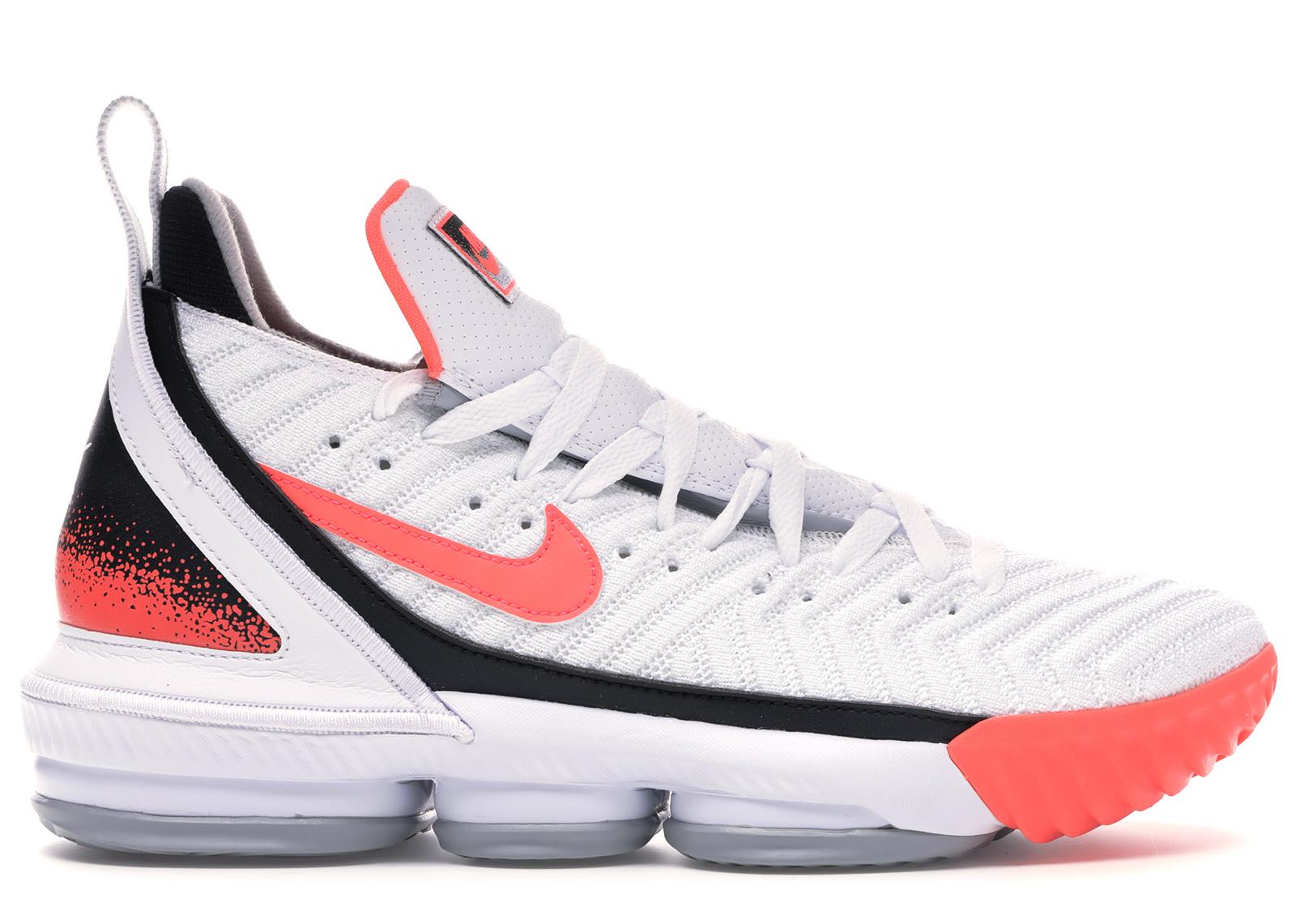 Nike LeBron 16 White Hot Lava - CI1521-100
