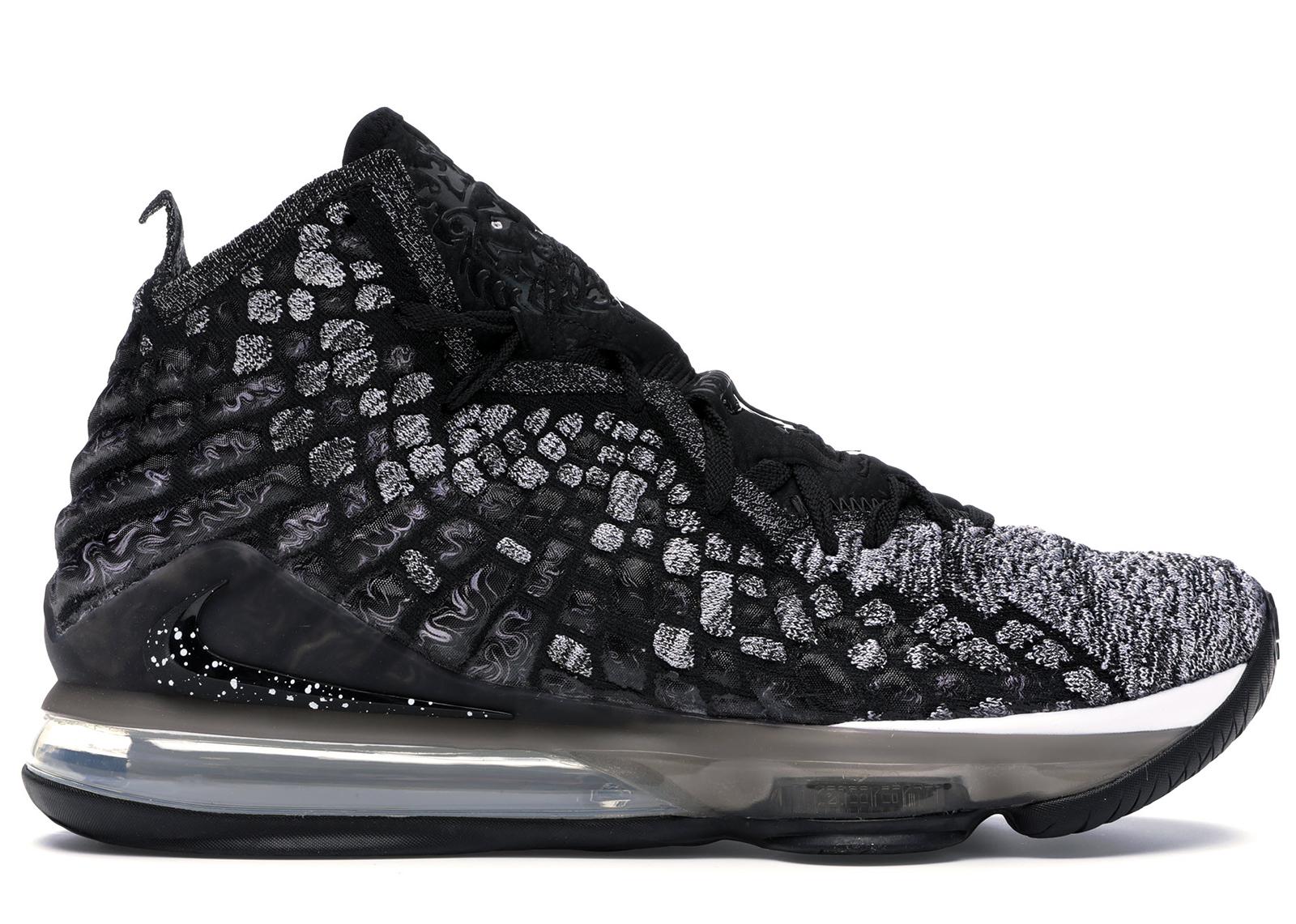 Nike LeBron 17 Black White - BQ3177-002