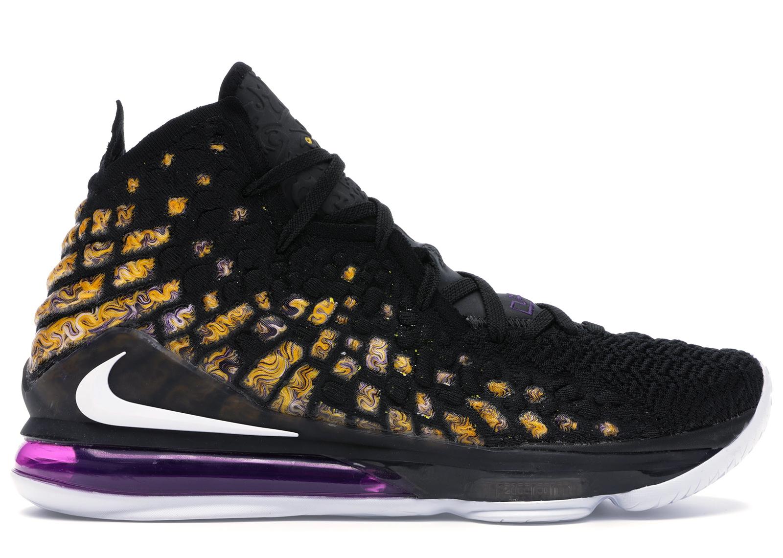 Nike LeBron 17 Lakers - BQ3177-004