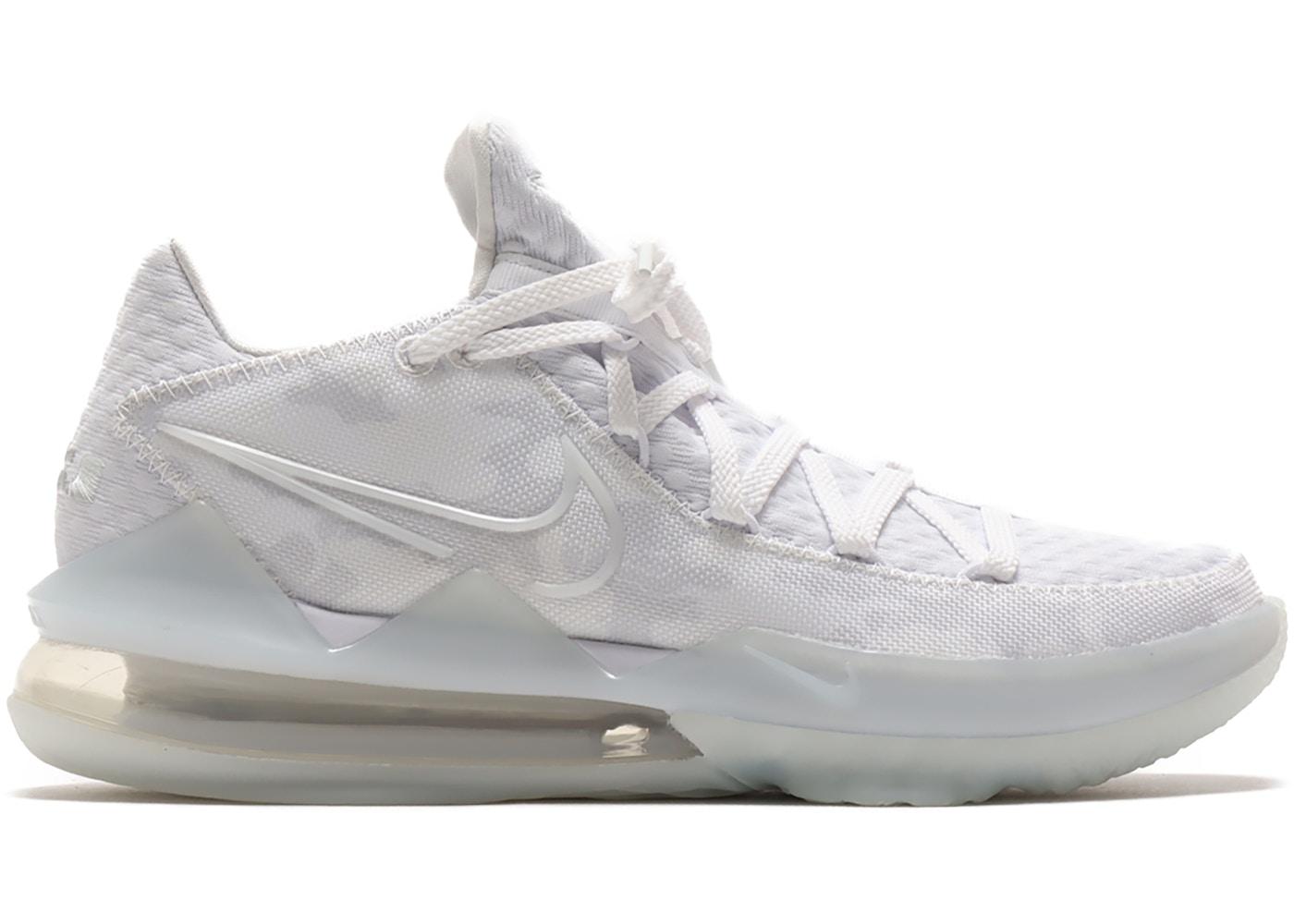 Nike LeBron 17 Low White Camo