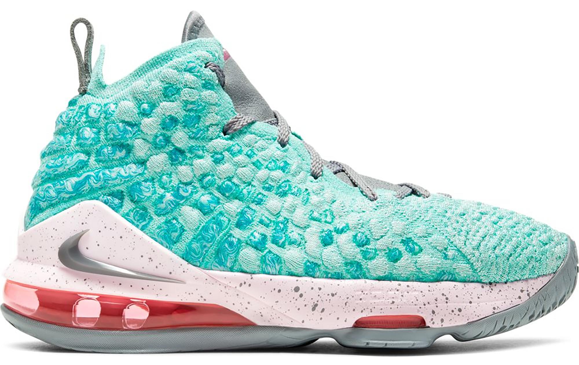 Nike LeBron 17 South Beach (GS