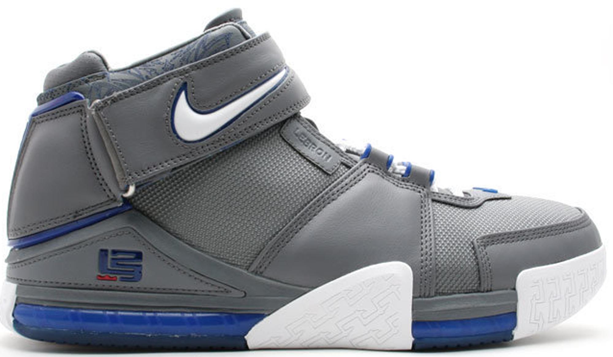 Nike LeBron 2 Cool Grey - 309378-012