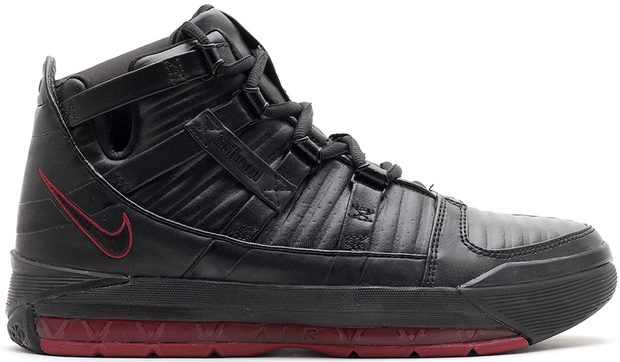Nike LeBron 3 Black Crimson (GS