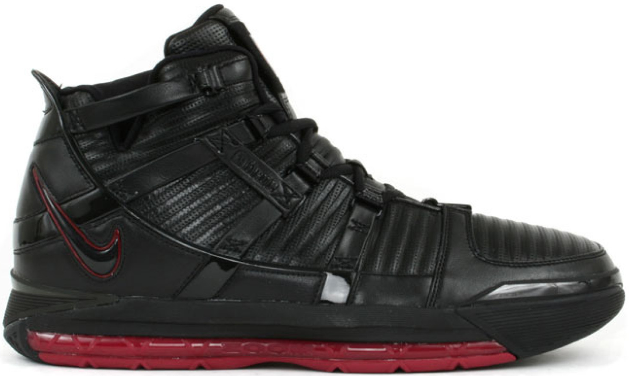 LeBron 3 Black Crimson