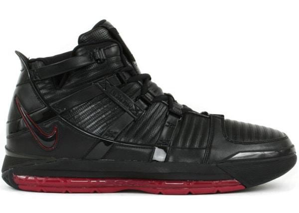 6e2d4bd3951ae Nike LeBron 3 Shoes - Last Sale