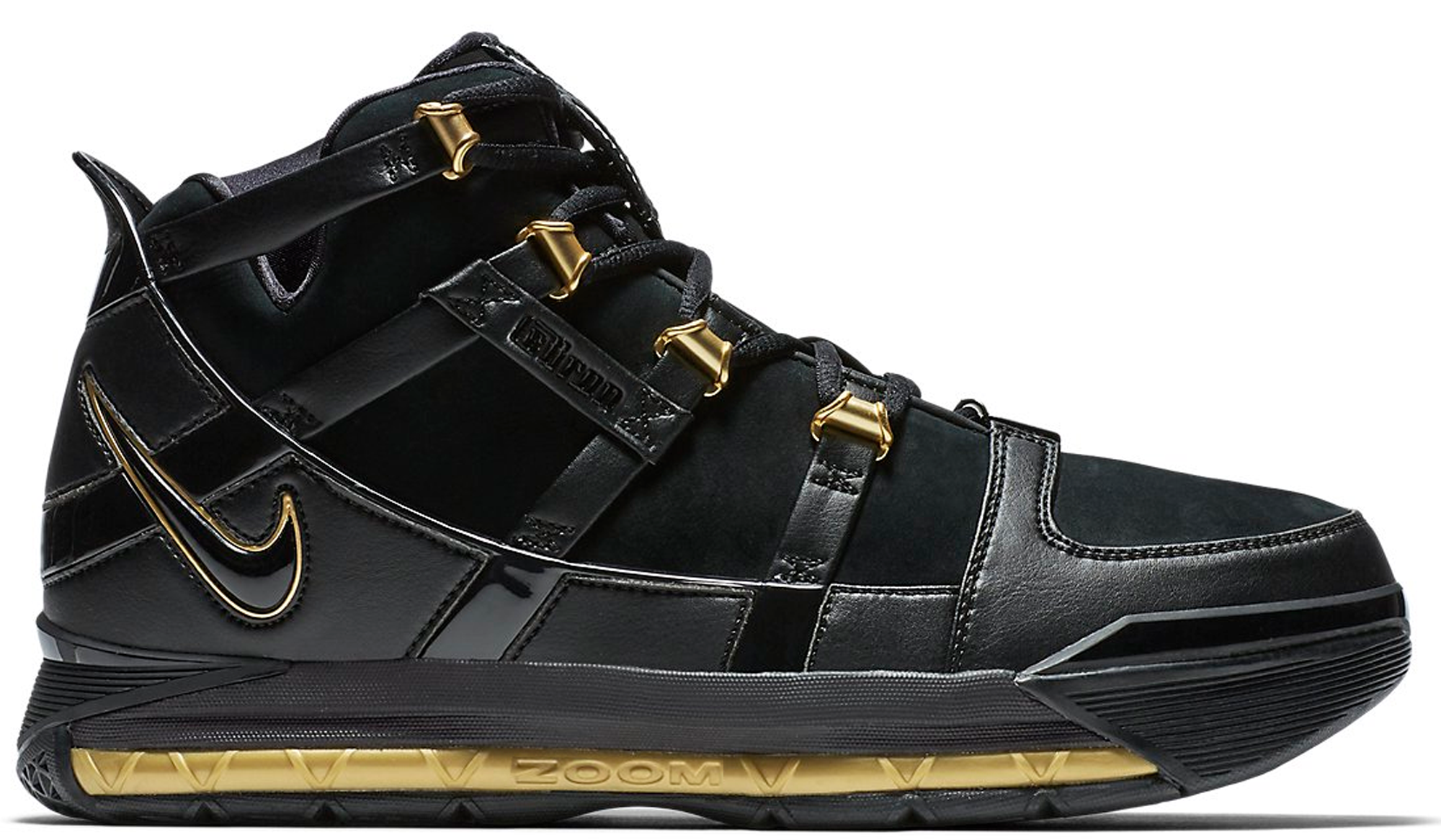 LeBron 3 Black Gold (2018)