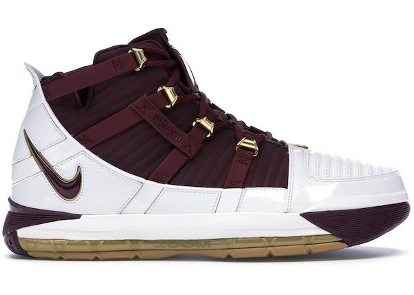 3ebac0723e1 Nike LeBron 3 Shoes - Last Sale