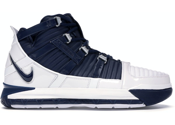 san francisco 73103 784b7 LeBron 3 Midnight Navy (2019)