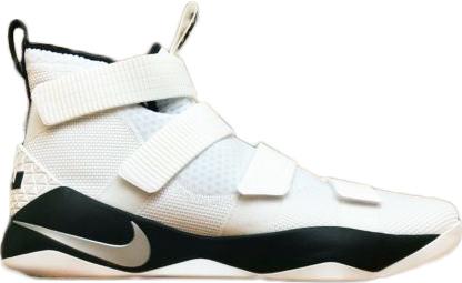 Nike LeBron Soldier 11 White Metallic