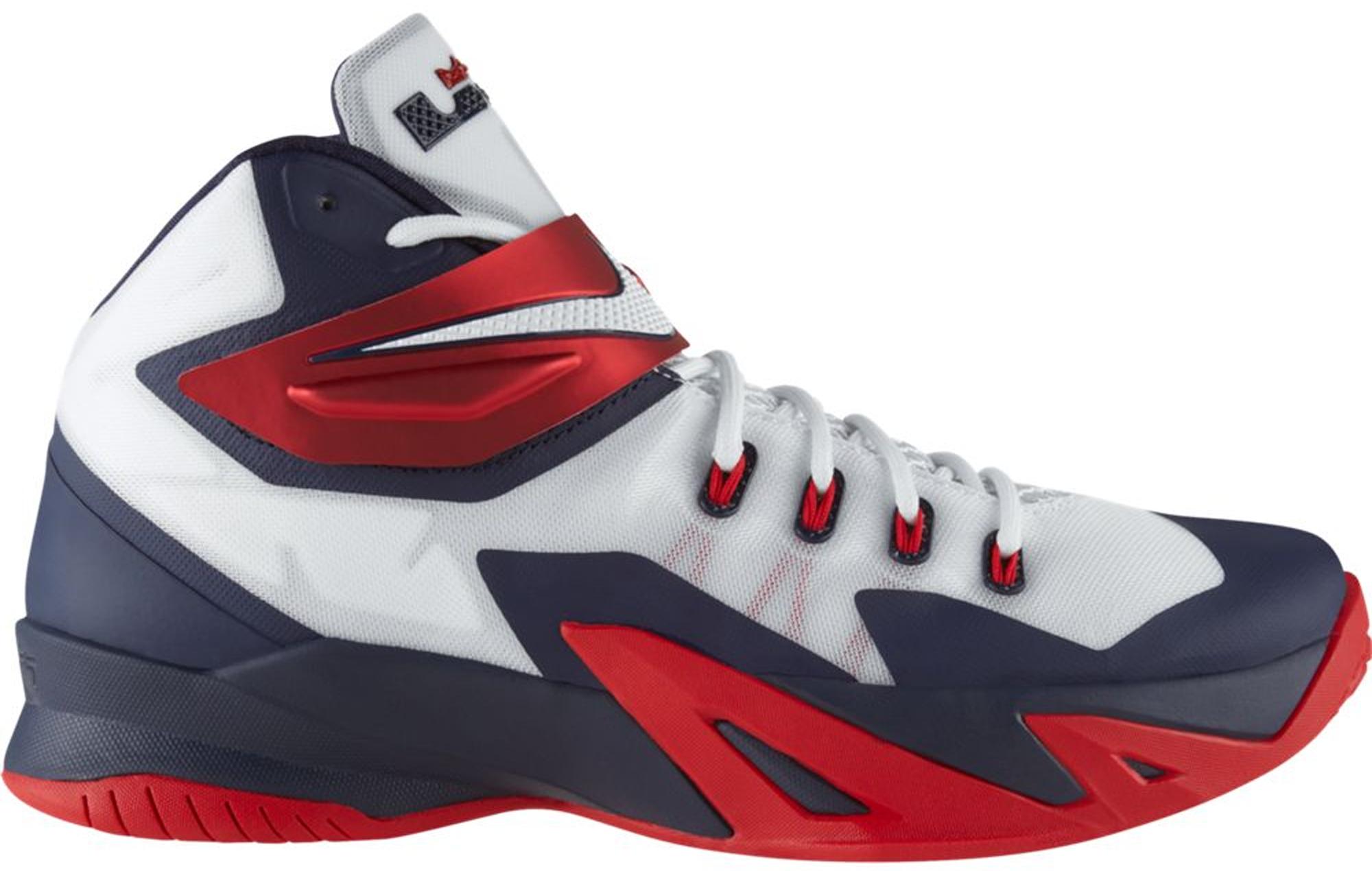 Nike LeBron Soldier 8 USA - 653641-114