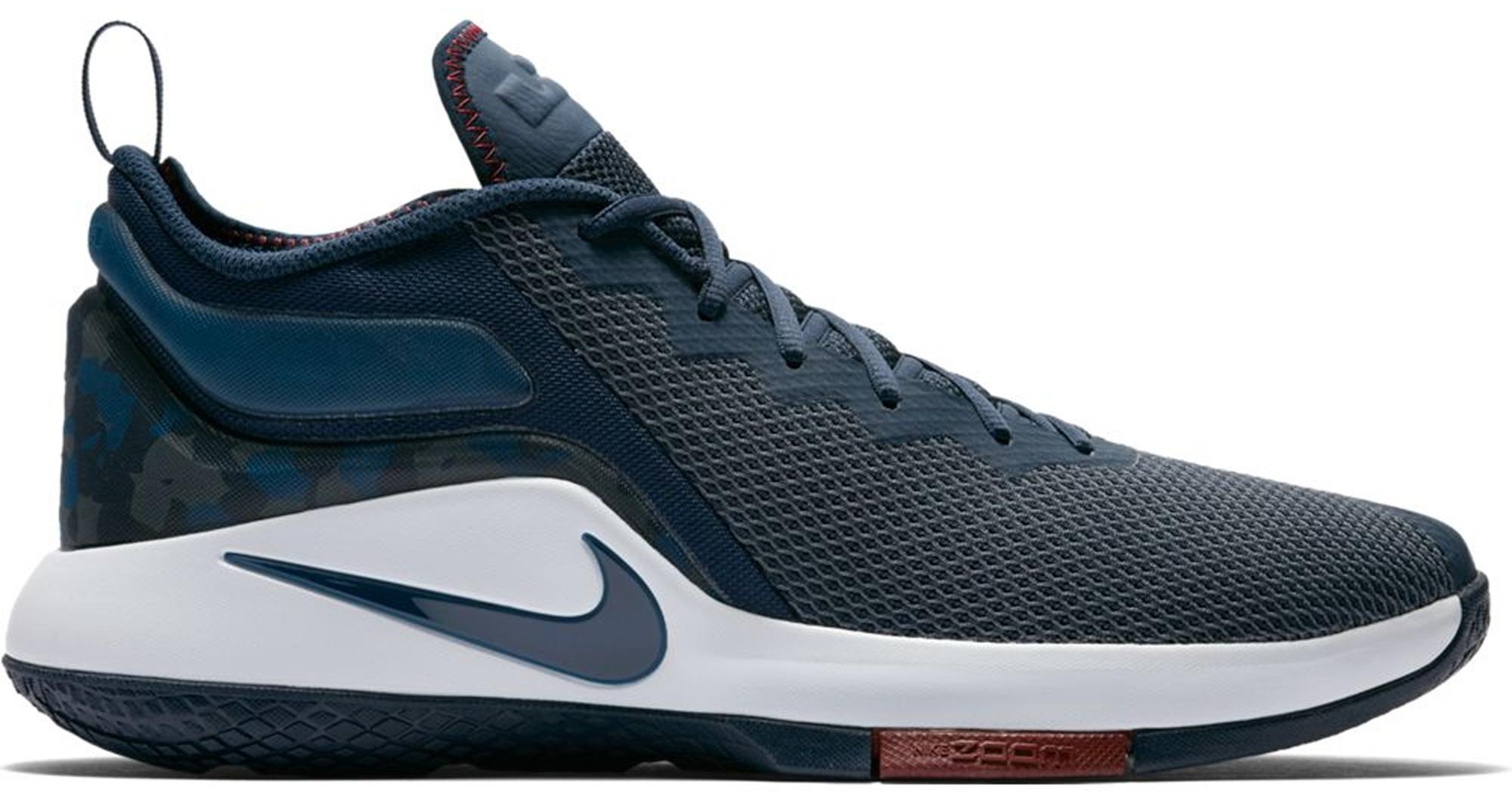Nike LeBron Witness 2 College Navy Team