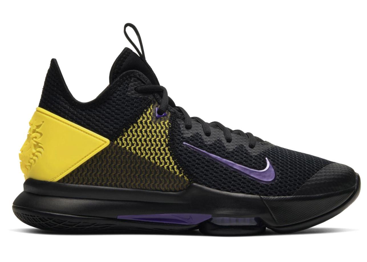 Nike LeBron Witness 4 Black/Opti Yellow