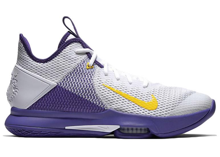 Nike LeBron Witness 4 White/Voltage