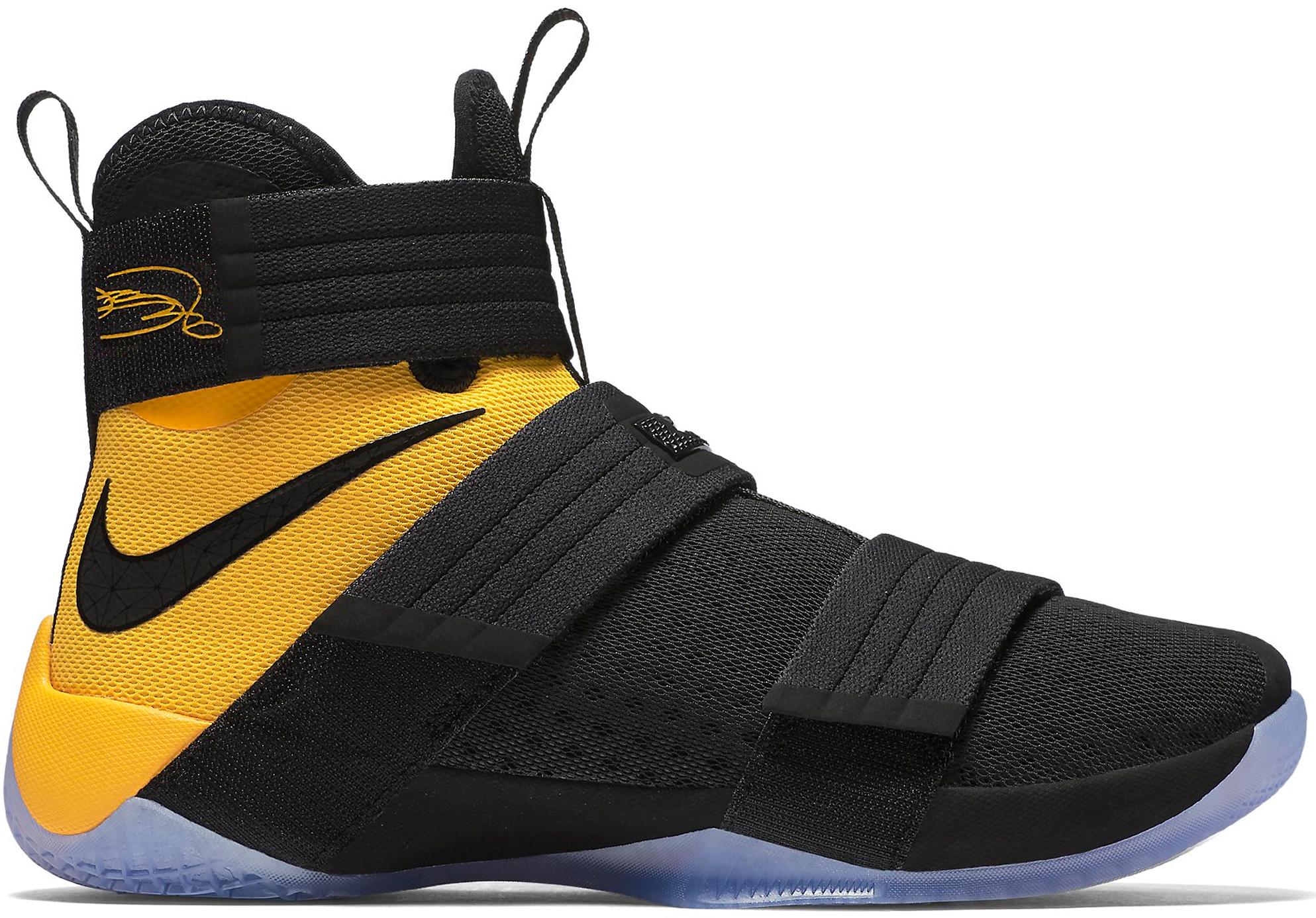 Nike LeBron Zoom Soldier 10 Black Uni