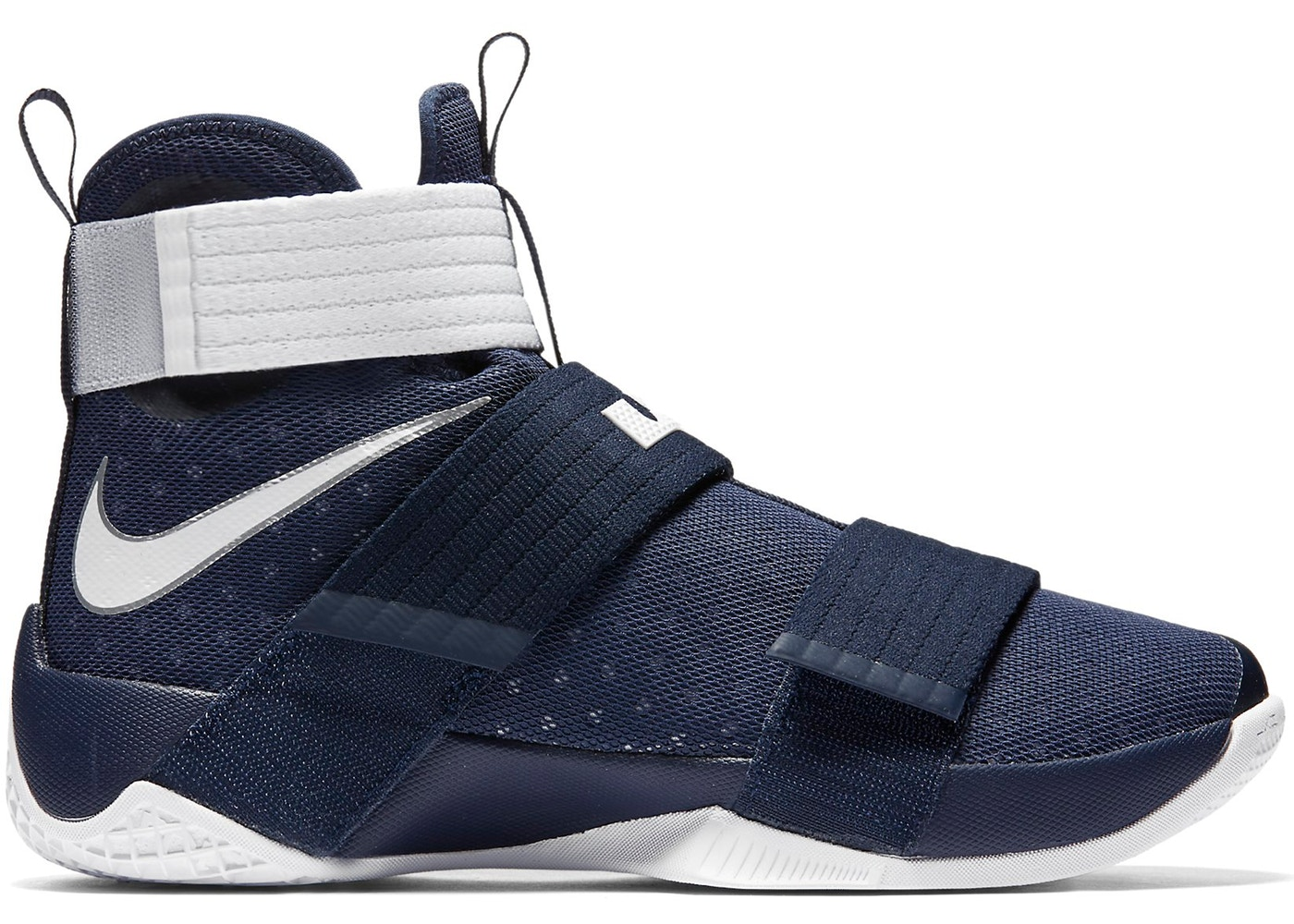 38fc63b083b LeBron Zoom Soldier 10 TB Midnight Navy - 844380-401