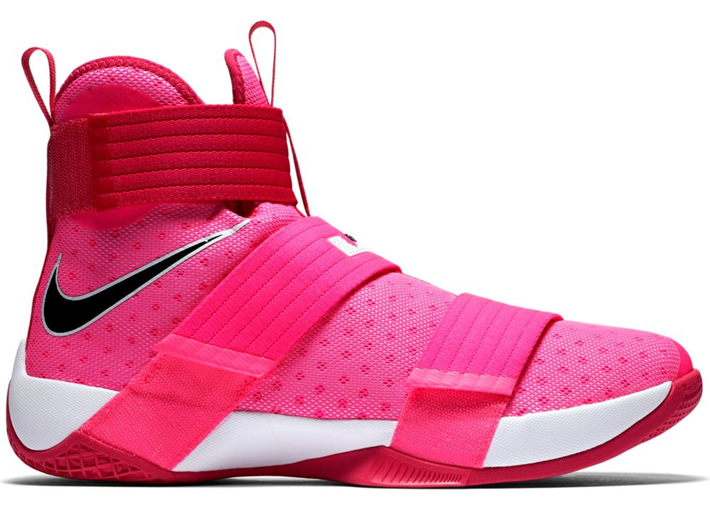 separation shoes 88ab8 92d1e LeBron Zoom Soldier 10 Think Pink - 844374-606