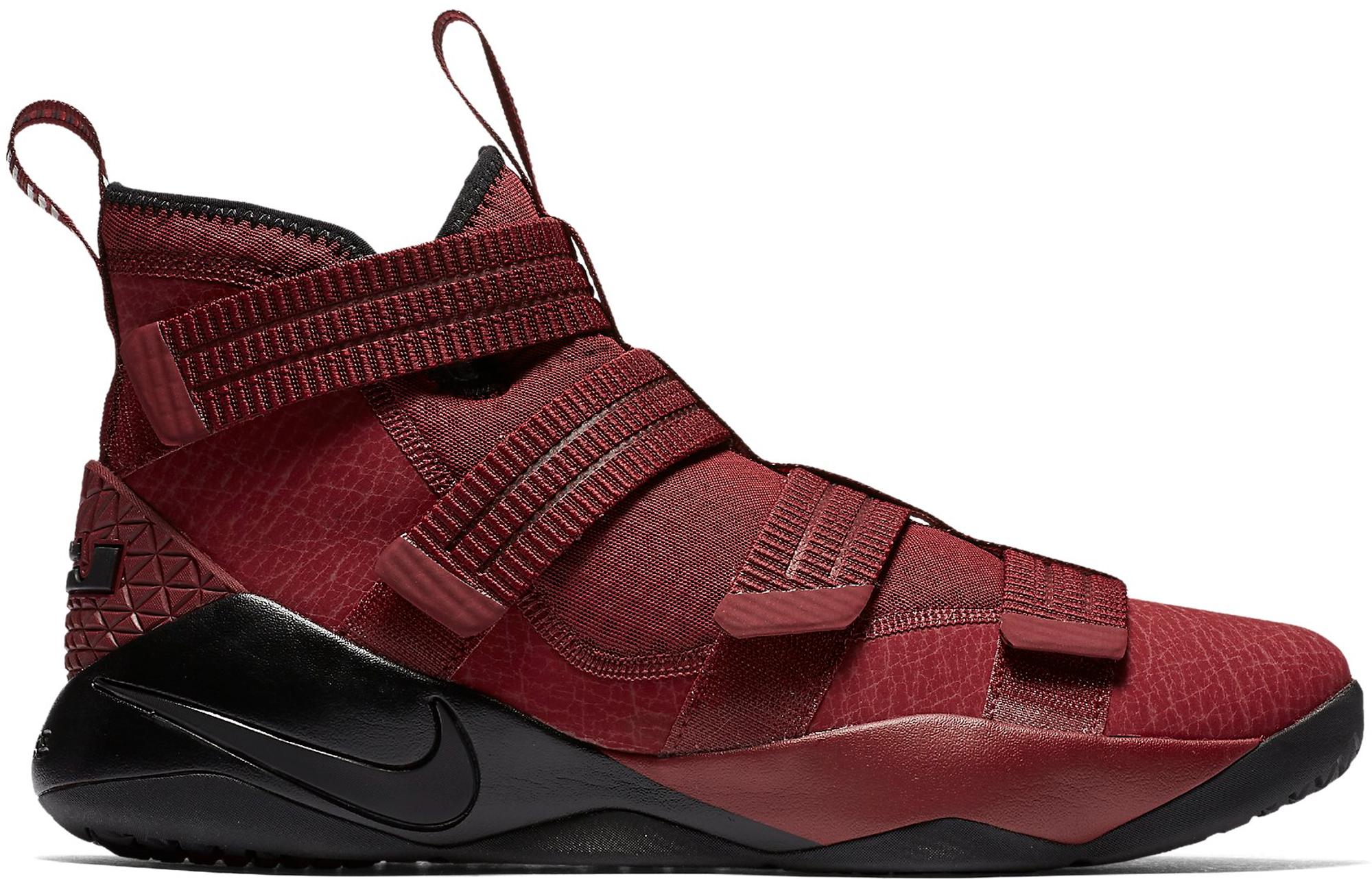 Nike LeBron Zoom Soldier 11 Burgundy