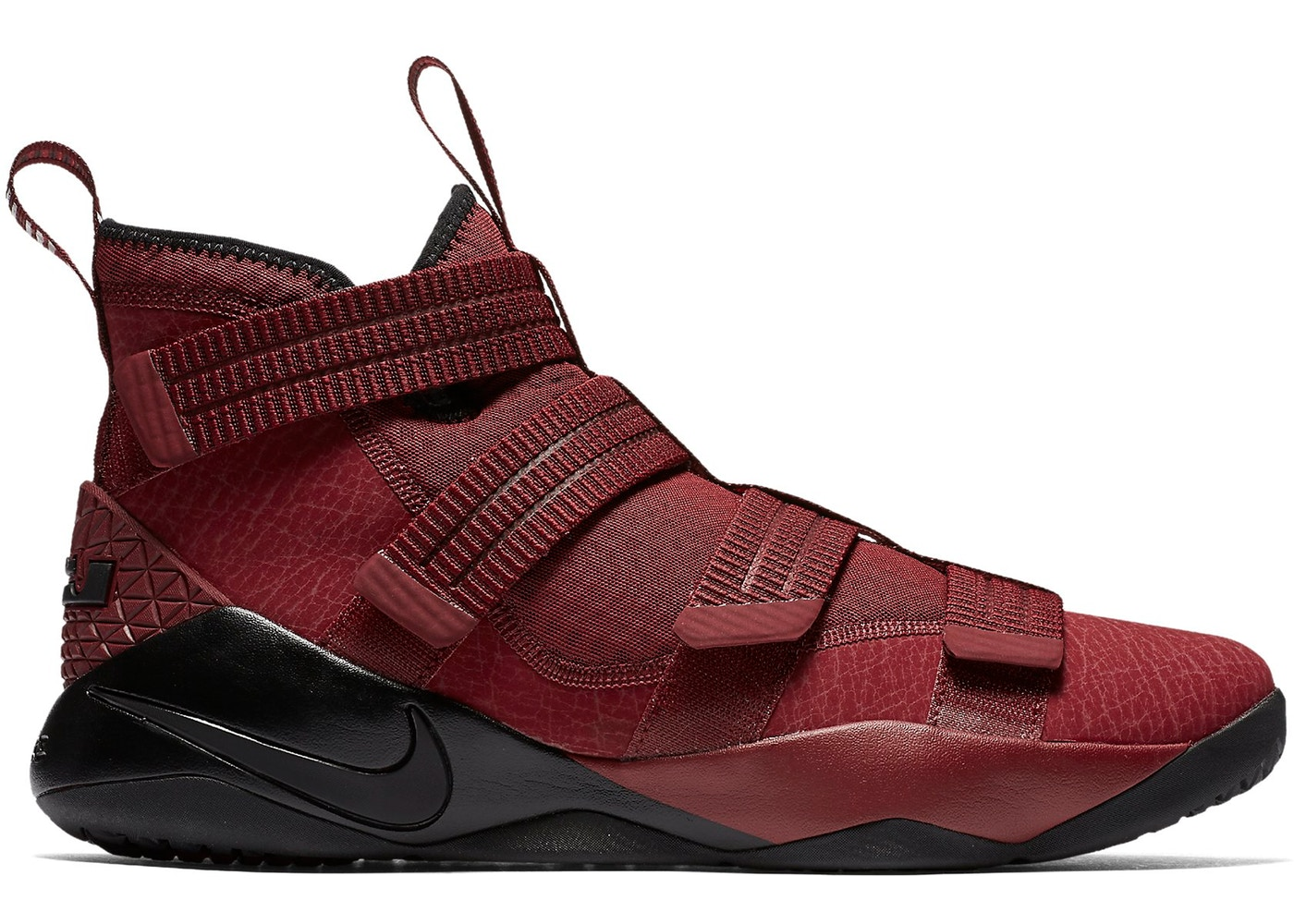 21b4be443a51a LeBron Zoom Soldier 11 Burgundy - 897646-600