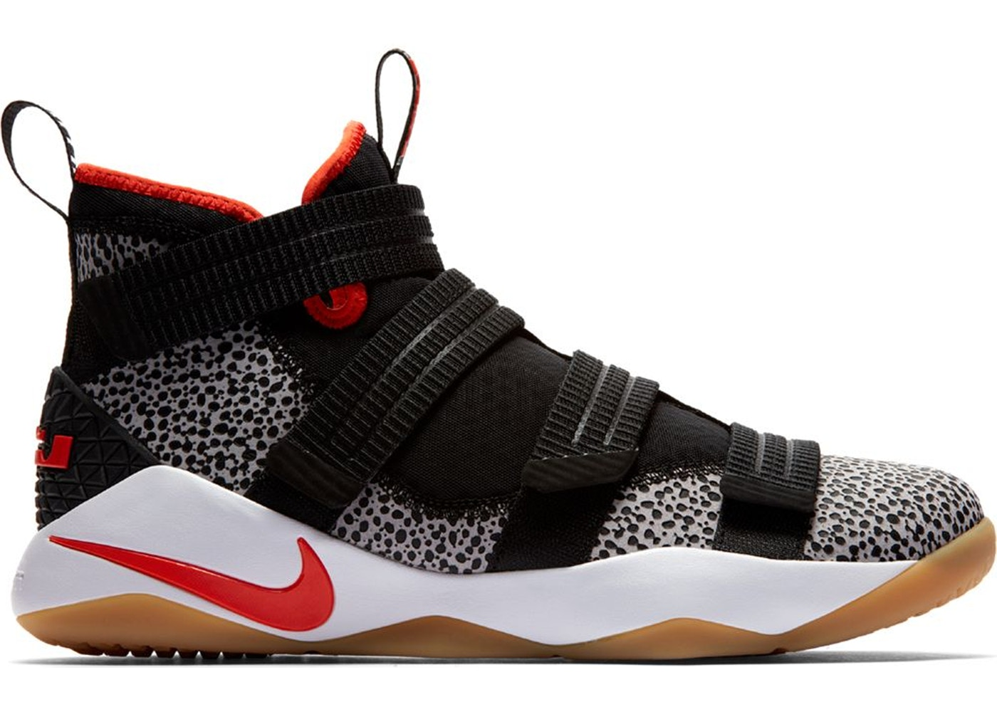 buy online 9bbd0 be44b LeBron Zoom Soldier 11 Safari