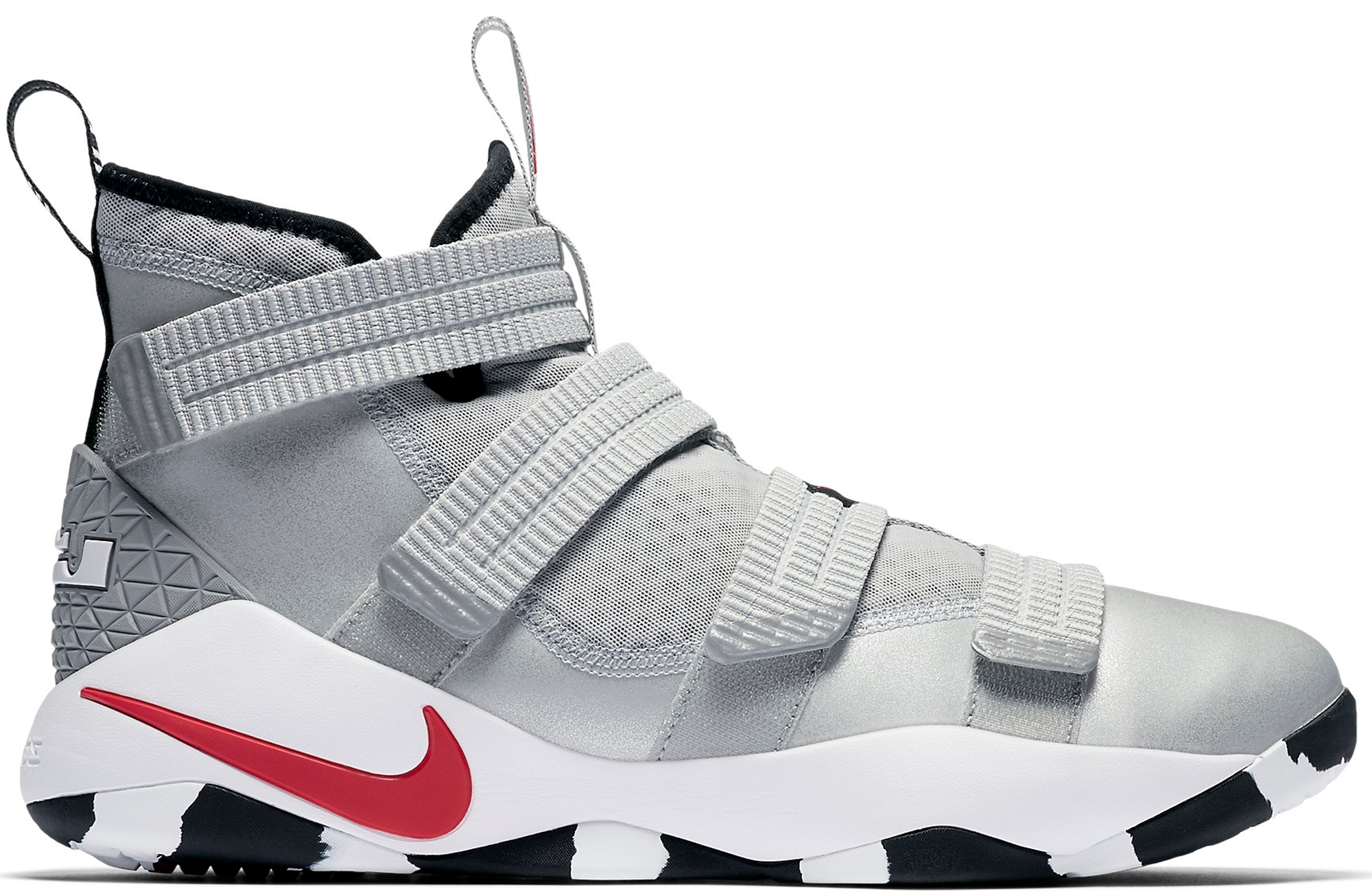 Nike LeBron Zoom Soldier 11 Silver