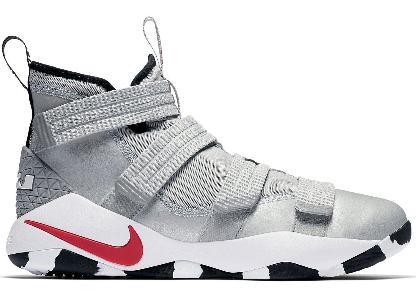 dd53ea612f39 Sell. or Ask. Size  9.5. View All Bids. Nike LeBron Zoom Soldier 11 Silver  Bullet