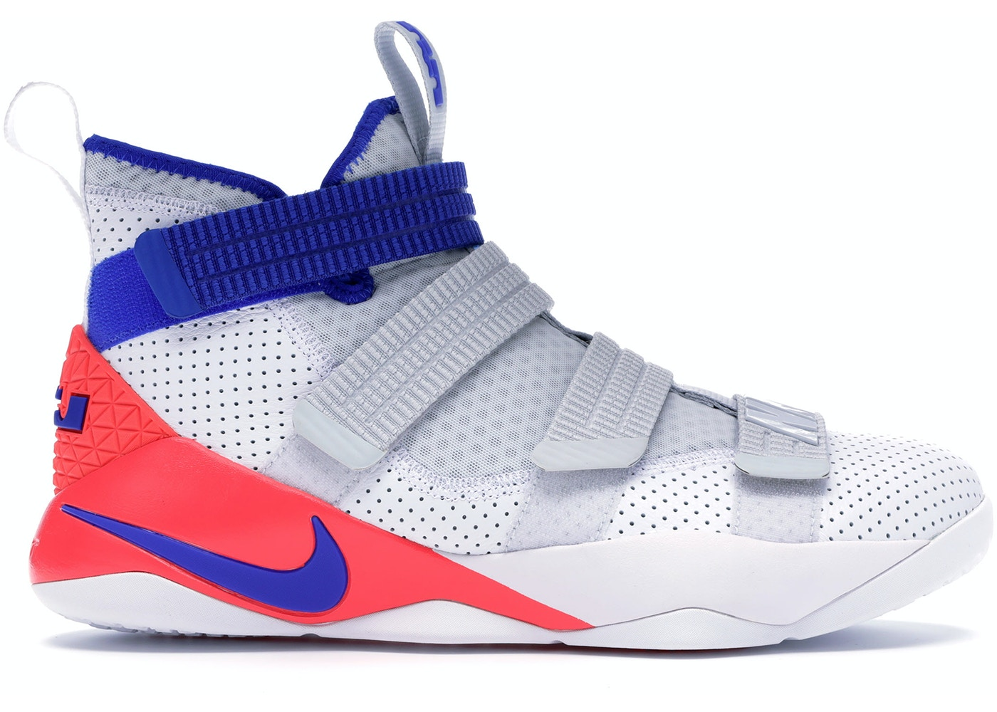 sports shoes 99c7a 18403 LeBron Zoom Soldier 11 Ultramarine