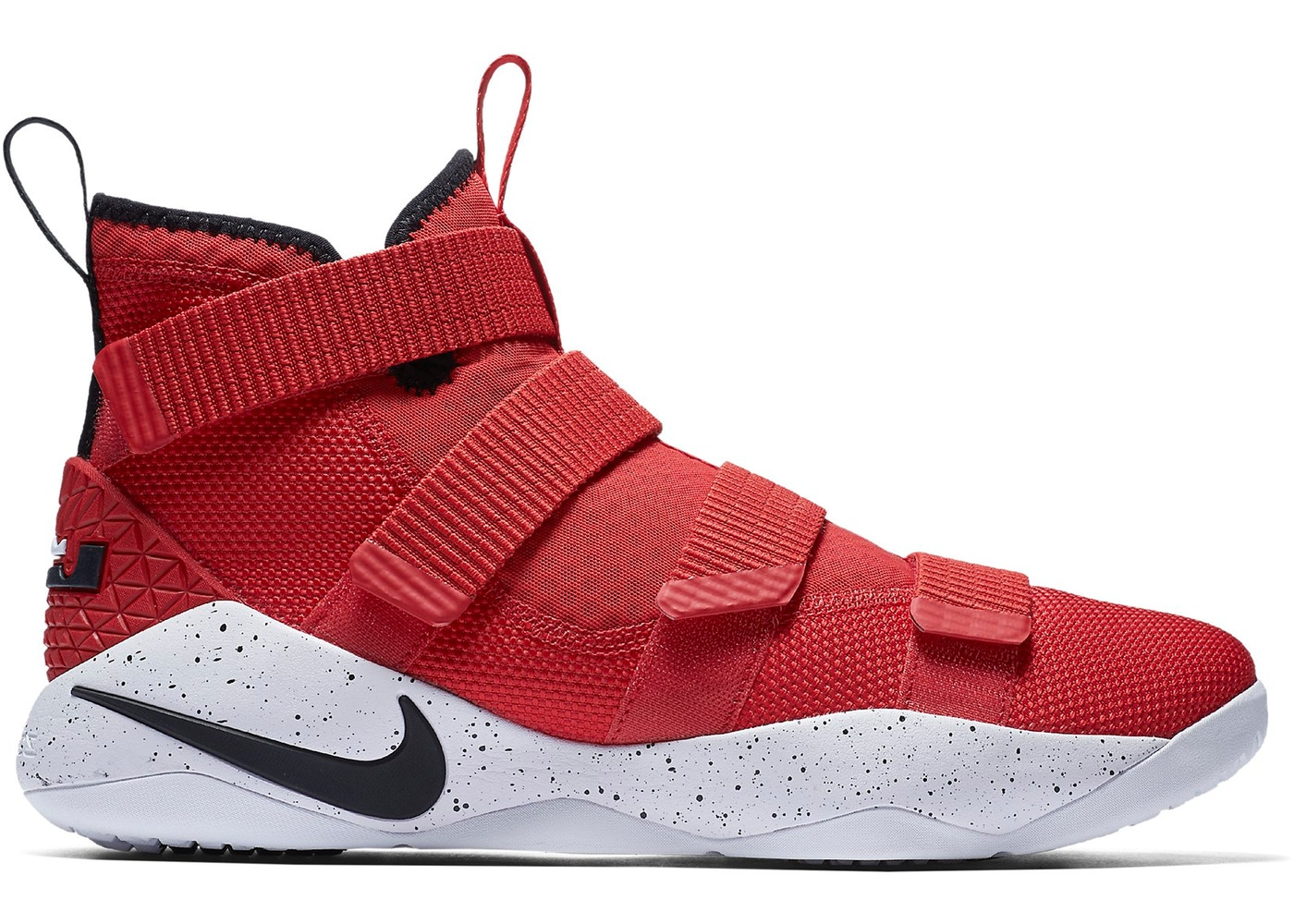 991d180d97e LeBron Zoom Soldier 11 University Red White - 897644-601