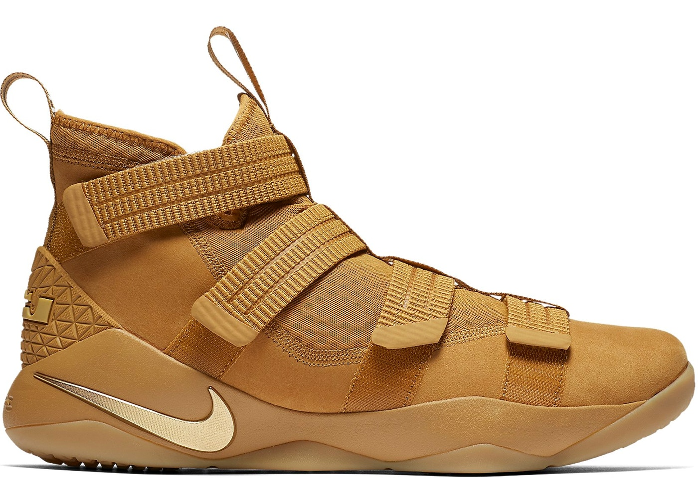 1d3373b22ec8 LeBron Zoom Soldier 11 Wheat - 897646-700