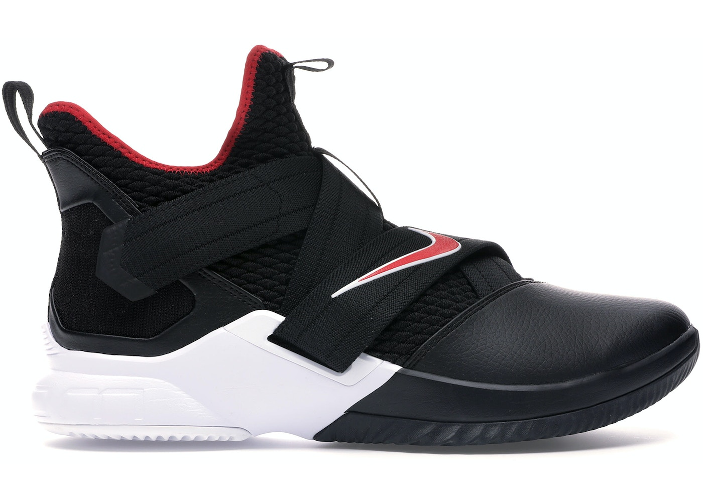huge discount 7aa49 58a11 LeBron Zoom Soldier 12 Bred