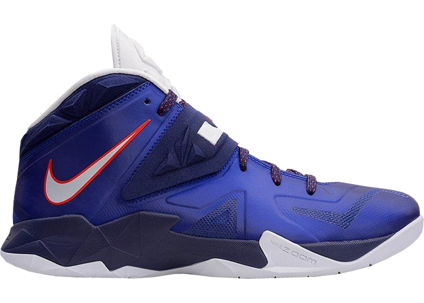 eca709e01b4 LeBron Zoom Soldier 7 Deep Royal Blue - 599264-400