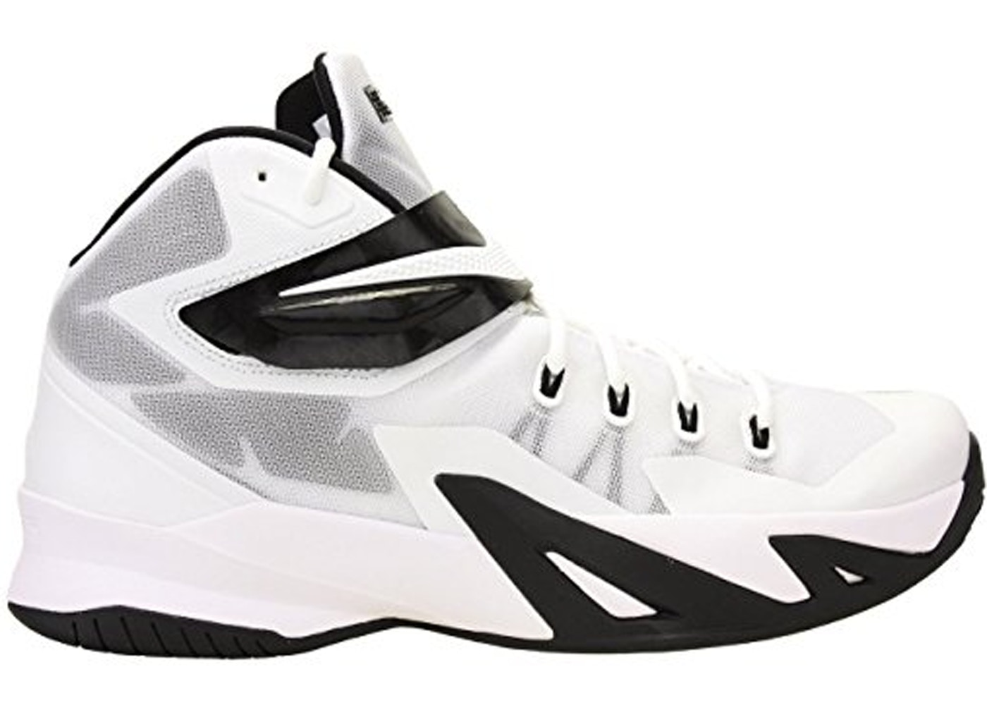 new product 157dd ebe49 Nike LeBron Zoom Soldier 8 TB White Black - 653648-100
