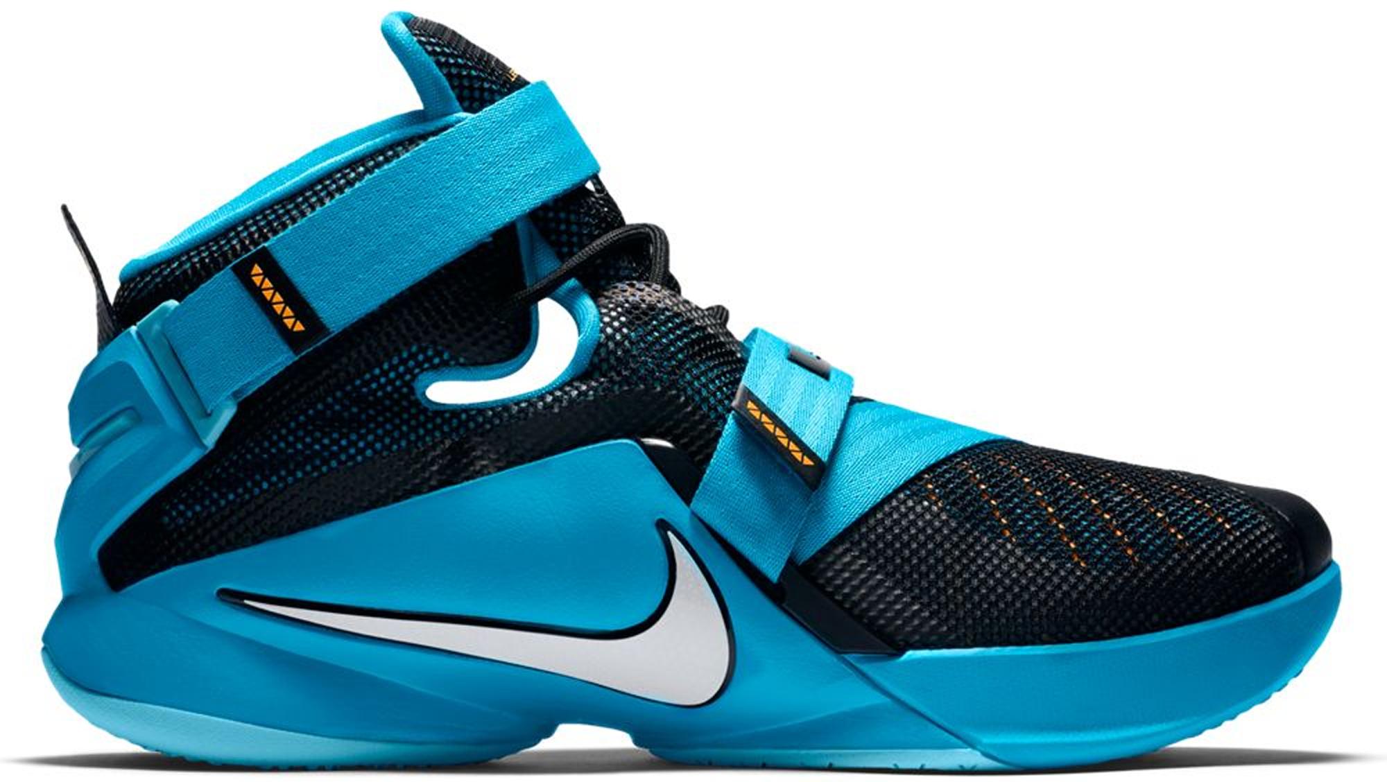 Nike LeBron Zoom Soldier 9 Blue Lagoon