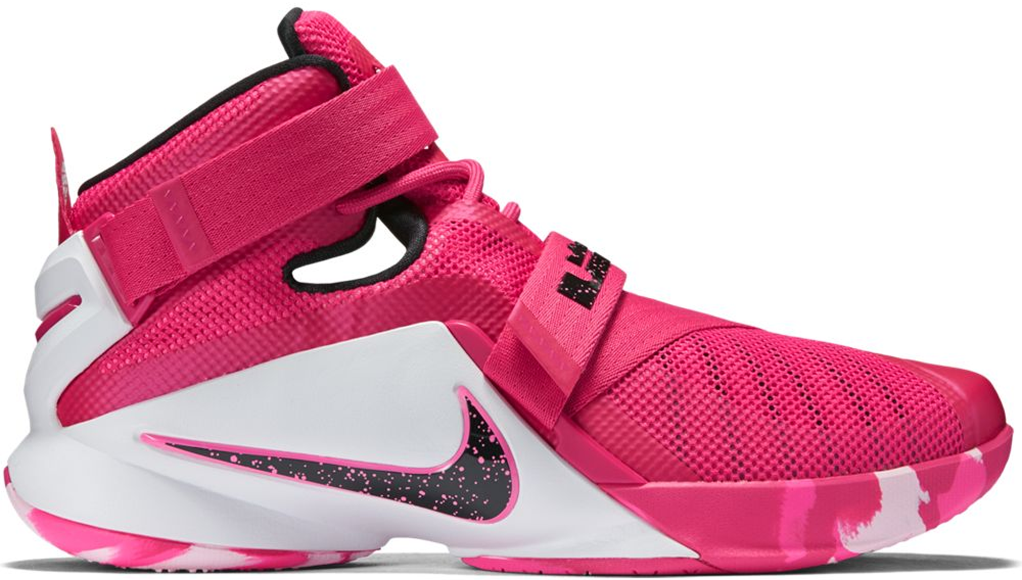 ddee1258ed3 ... closeout nike lebron zoom soldier 9 think pink c3219 dd059