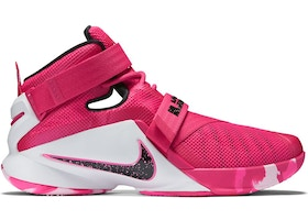 buy popular 75163 1e57a Nike LeBron Zoom Soldier 9 Think Pink
