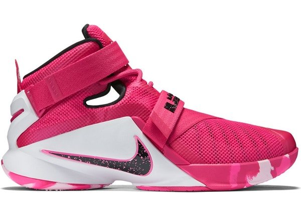 detailed look 3ac2b f724c Nike LeBron Zoom Soldier 9 Think Pink - 749417-601